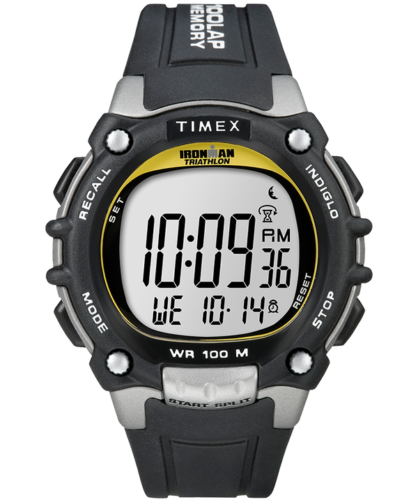 IRONMAN Classic 100 Full-Size 44mm Resin Strap Watch  large