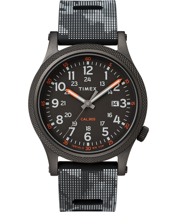 Allied LT 40mm Silicone Strap Watch  large