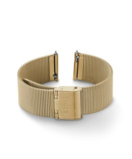 18mm Quick Release Mesh Band Gold-Tone large