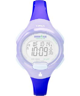 Replacement 12mm Resin Strap for IM Essential 10 Mid-Size-2 Blue large