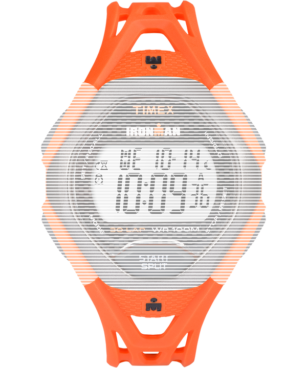 Replacement 17mm Resin Strap for Ironman® Sleek 30 Full-Size Orange large