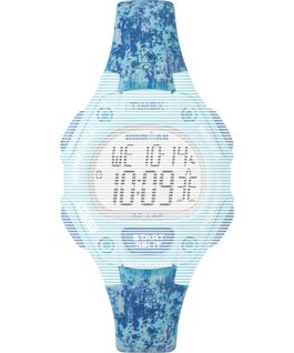 Replacement Resin 14mm Paint Patterned Strap for Ironman Classic 30 Mid-Size Blue large