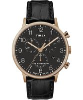 Deals on Timex Waterbury Classic Chronograph 40mm Leather Strap Watch