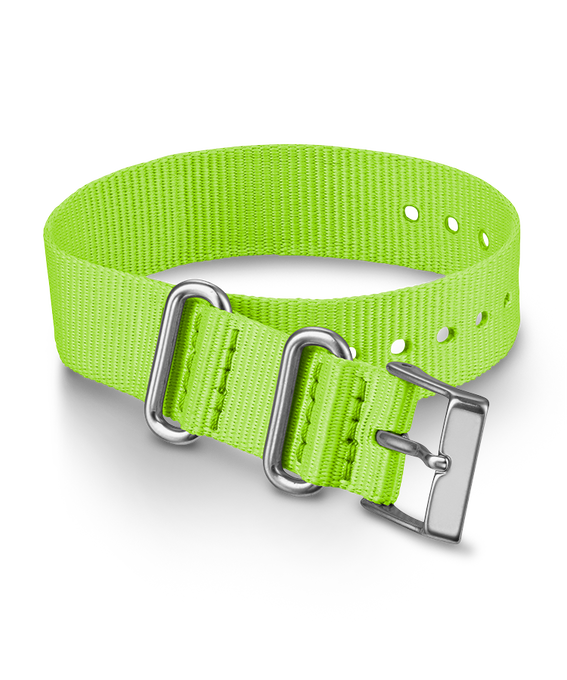 16mm Nylon Strap Green large