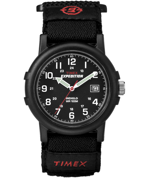 Expedition Camper 38mm Nylon Fast-Wrap Watch Black large