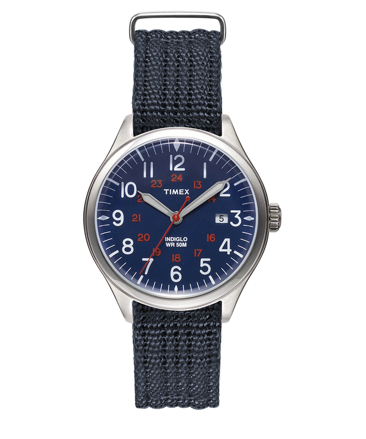 Waterbury United 38mm Fabric Strap Watch