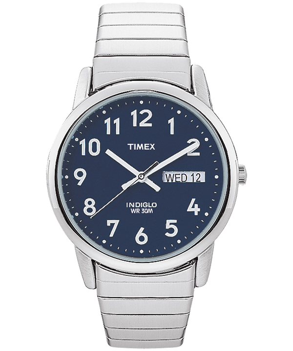 Easy Reader 35mm Stainless Steel Watch with Day Date  large