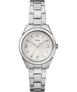 Torrington Womens 3-Hand 27mm Bracelet Watch Stainless-Steel/Silver-Tone large