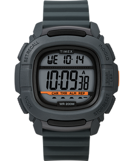 BST 47mm Silicone Strap Watch Gray large