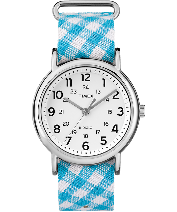Weekender Patterns 38mm Fabric Strap Watch  large