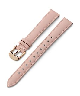 14mm Gold Buckle Leather Strap Pink large