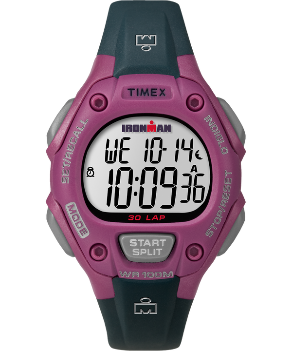 IRONMAN Classic 30 Mid-Size Resin Strap Watch Pink/Gray large