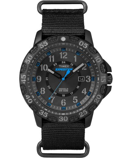 458a2fff97ce Expedition Gallatin 44mm Fabric Strap Watch Black large
