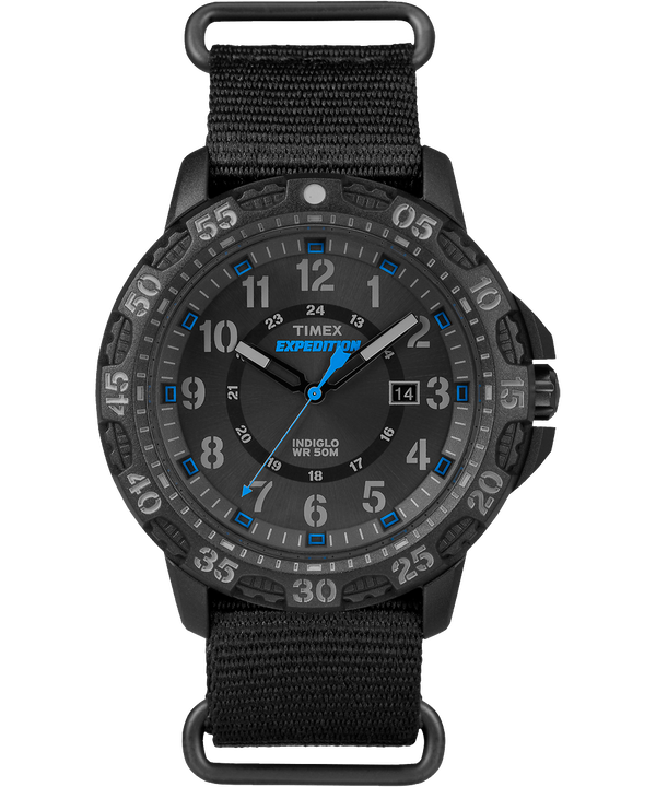 Expedition Gallatin 44mm Nylon Strap Watch  (large)