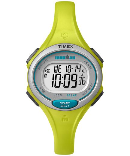 e3b68325c IRONMAN Essential 30 Mid-Size Resin Strap Watch Yellow/Black large