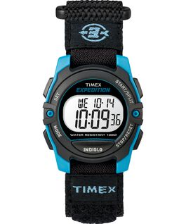 Expedition Digital 33mm Nylon Strap Watch Blue/Black large