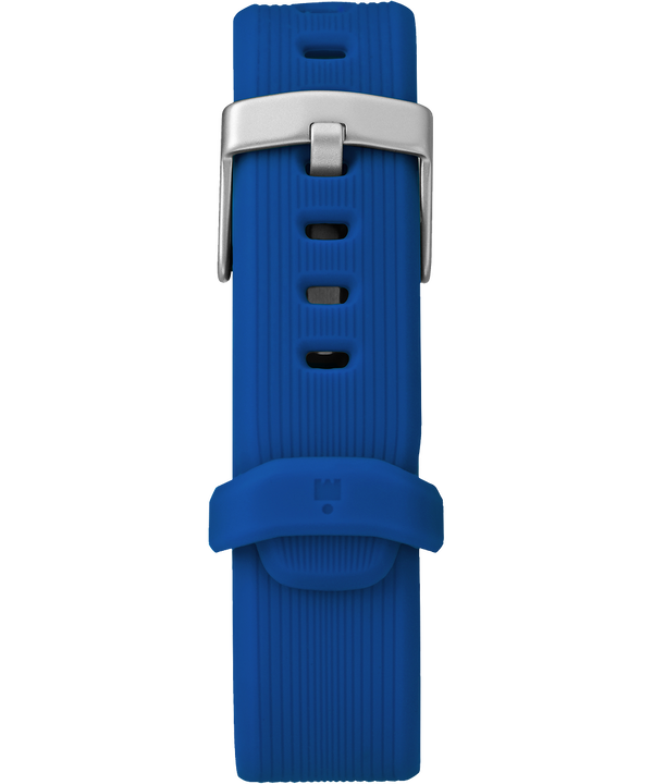 21mm Silicone Strap Blue large