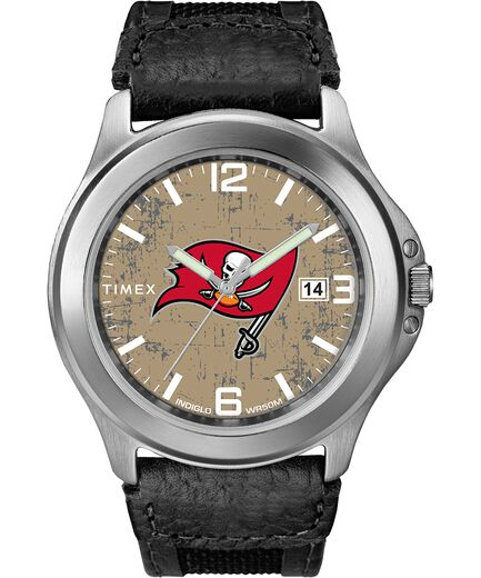 fdb8ee5b Old School Tampa Bay Buccaneers Watch | Timex Tribute NFL Collection