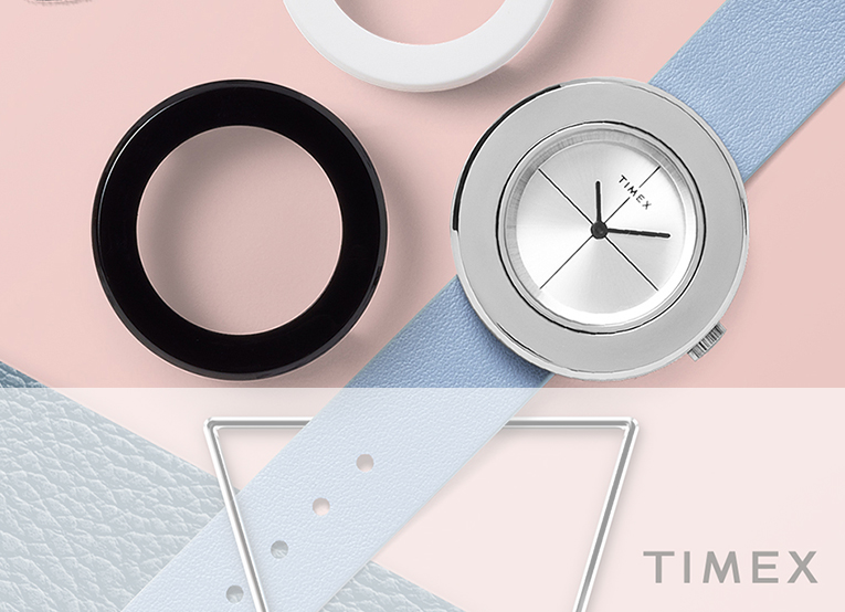 THE NEW VARIETY COLLECTION FROM TIMEX