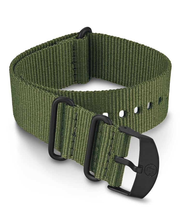 UPC 753048872008 product image for Timex Watch Men's 22MM Fabric Slip-Thru Double Layer Strap Green Item # Tw7C6830 | upcitemdb.com