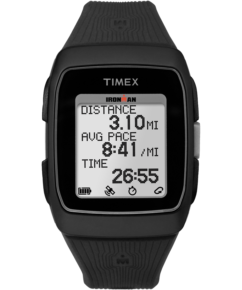 Ironman Gps 38mm Silicone Strap Timex