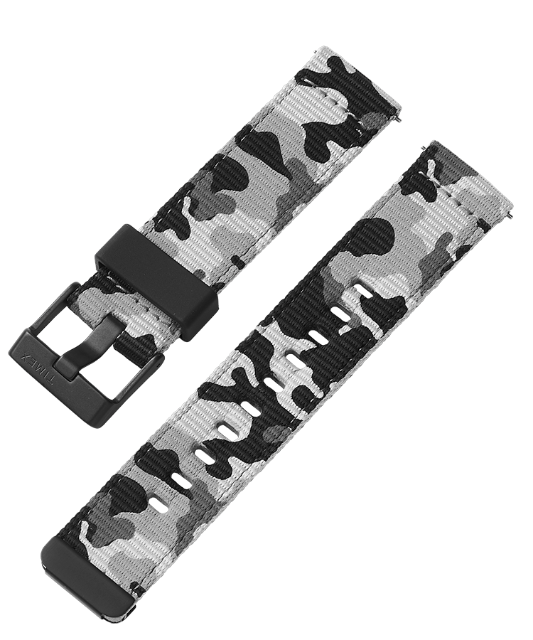UPC 753048878215 product image for Timex Watch Men's 22MM Quick-Release Fabric Strap Camo Item # Tw7C44300Yx | upcitemdb.com