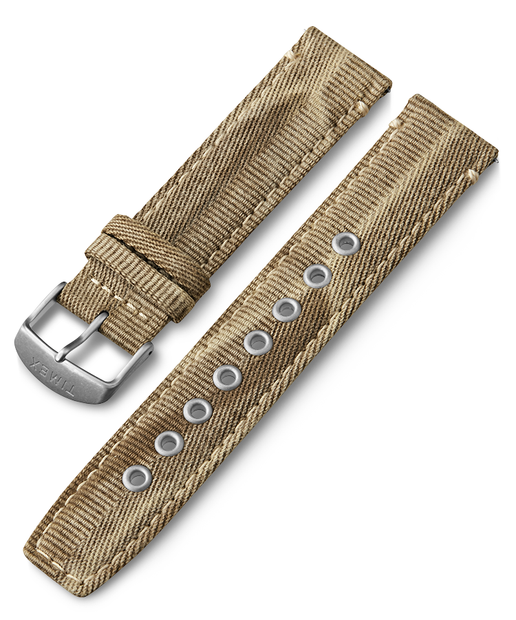 UPC 753048871841 product image for Timex Watch Men's 20MM Quick Release Fabric Strap Tan Item # Tw7C66700Gz | upcitemdb.com