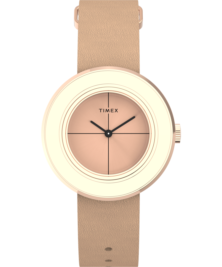 UPC 194366020526 product image for Timex Watch Women's Variety 34MM Leather Strap Rose Gold-Tone/other/rose Gold-To | upcitemdb.com