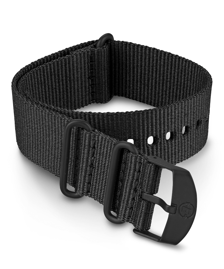 UPC 753048871995 product image for Timex Watch Men's 22MM Fabric Slip-Thru Double Layer Strap Black Item # Tw7C6820 | upcitemdb.com