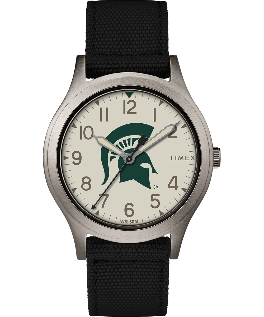Timex Watch Women's Ringer Michigan State Spartans Gray/black/other Item # Twzumcswayz
